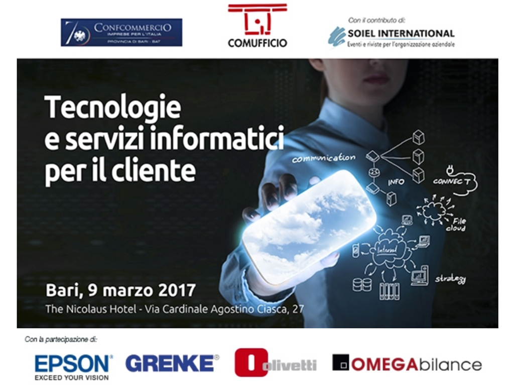 CV Sistemi alla conferenza sulle tecnologie e Servizi informatici per il cliente!