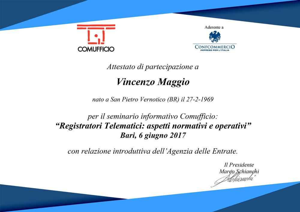 Seminario RT Vincenzo Maggio